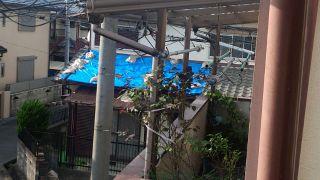 茨木市で大地震!屋根の修理見積り前確認に5日かかりました