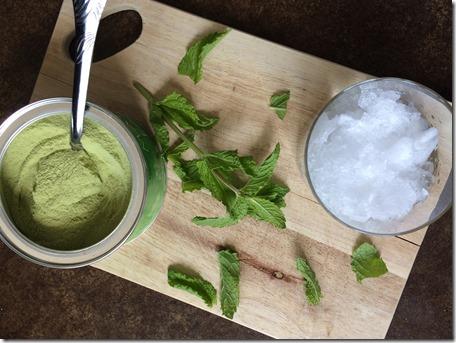 Matcha Mint Latte Iced Tea _1