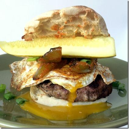 Hot Sauce Breakfast Burger _10