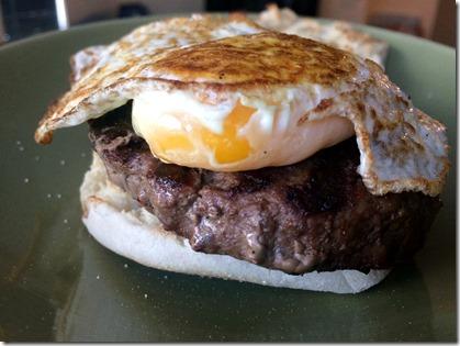 Hot Sauce Breakfast Burger _1