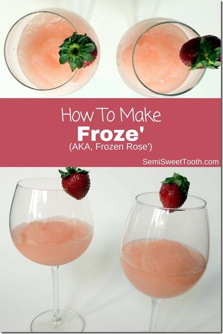 Froze' Recipe