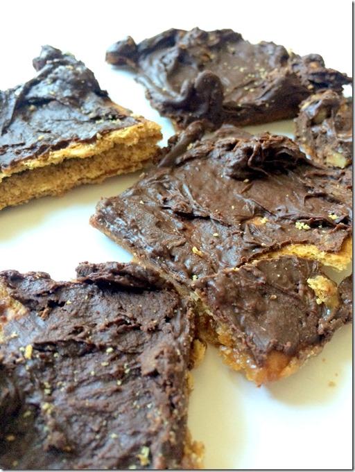 Chocolate Toffee Grahams _3