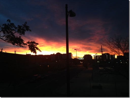 CO sunrise