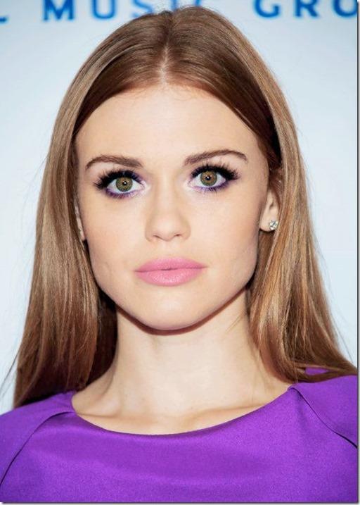 purple eyeliner