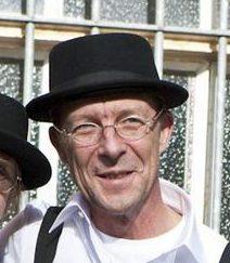 Martin Semmelrogge und Künstlerfreund Liedermacher Maika