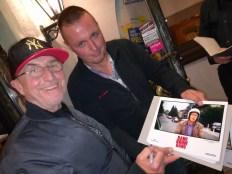 Martin und ein Fan