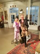 Lucy, Martin und Teddy