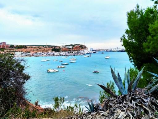 Port Adriano Hafenansicht