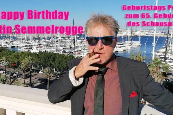 Happy Birthday Kultfigur- Martin Semmelrogge wird 65 Jahre alt