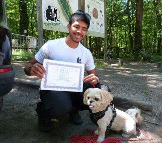 Semper-Dogz-educateur-canin-nantes-cholet---jesy-diplomée
