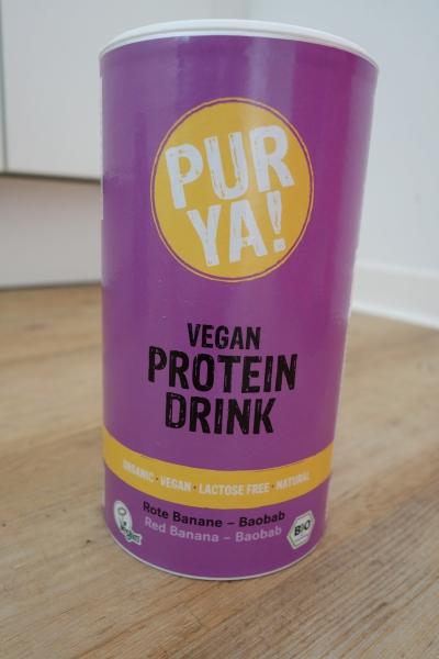 PurYa Protein Drink Test