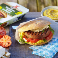Vegane Hamburger Patties, vegane Alternativen