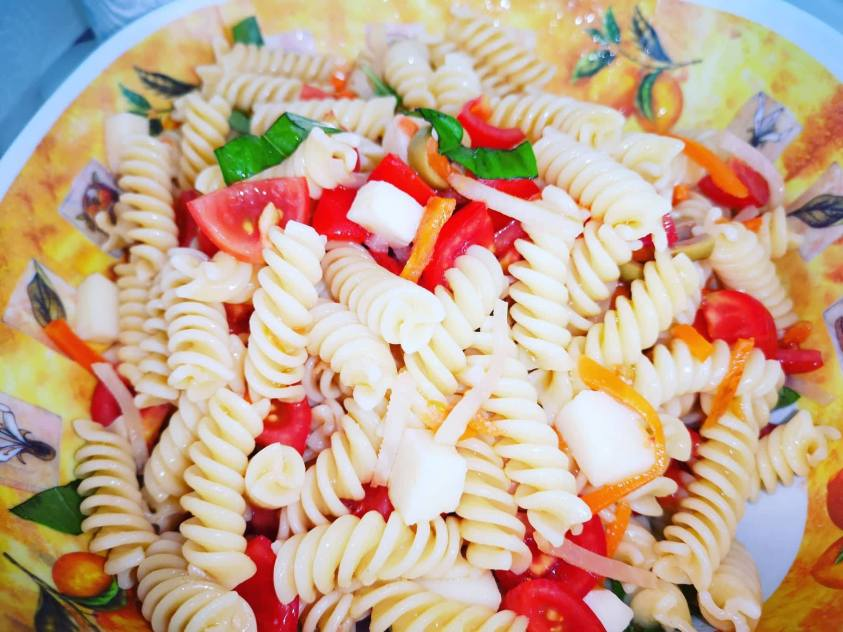 Insalata di pasta light