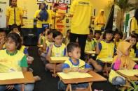 Bersiap Mengerjakan Soal Kompetisi Sempoa Kreatif di Cito Sby,Juni 2014