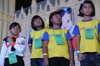 Persiapan Olimpiade Sempoa Kreatif di Jatim Expo Sby,November 2013