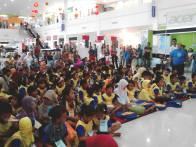 peserta Kompetisi Sempoa Kreatif di PCC Ponorogo, Februari 2015
