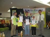 Siswa Terbaik Olimpade Sempoa Kreatif,Juli 2010