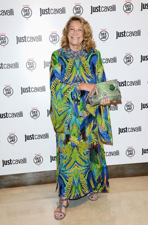 attends the new Just Cavalli boutique opening party as part of Milan Womenswear Fashion Week on September 21, 2012 in Milan, Italy.