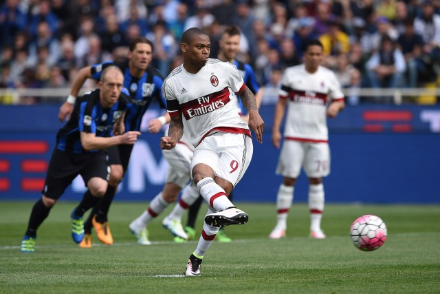 Adriano gives Milan the advantage. | Valerio Pennicino/Getty Images