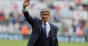 Pellegrini set for San Siro | Geoff Caddick/AFP/Getty Images