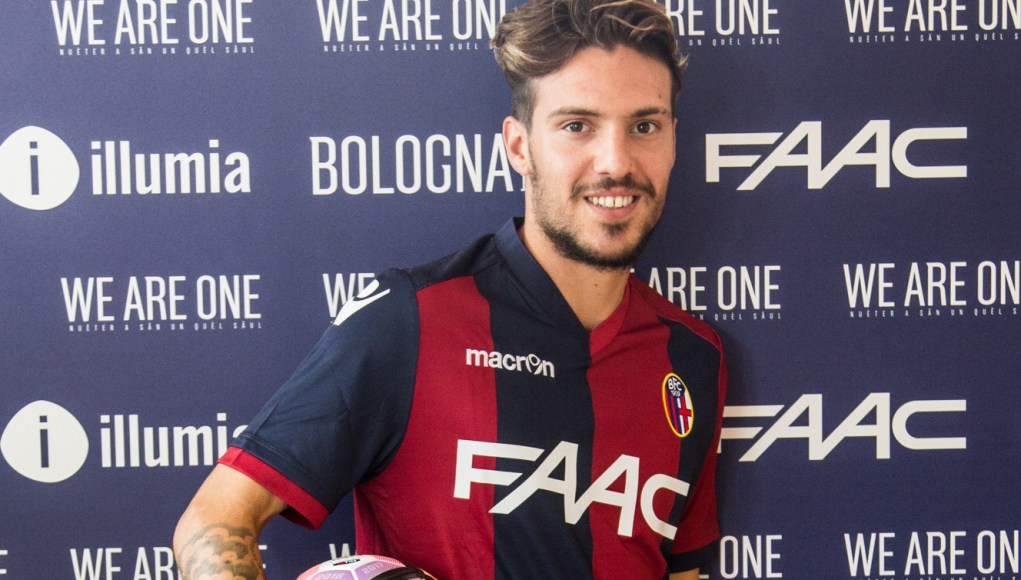 Verdi completed Rossoblu switch | Image: bolognafc.it
