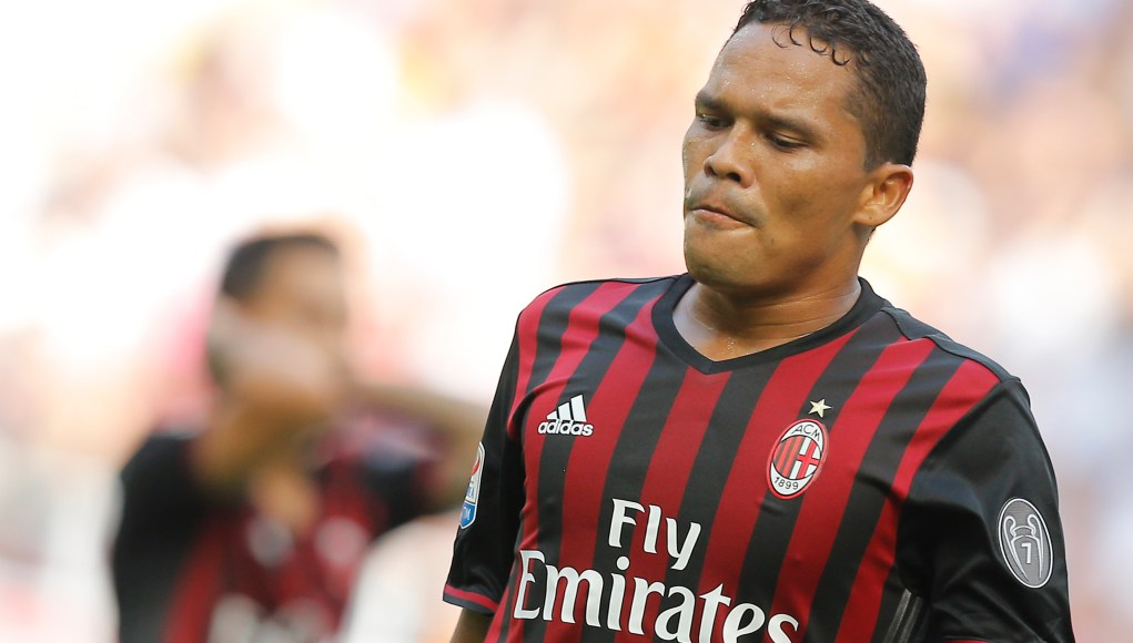 Bacca cuts vacation short to train | AFP Getty Images