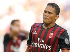 Bacca set to sit out again due to injury | AFP Getty Images
