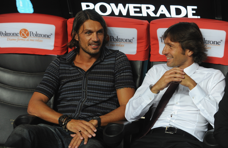 Милан Леонардо и Мальдини снова вместе
