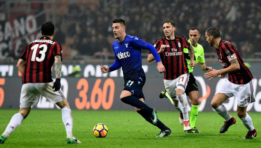 Milinkovic-Savic Lazio-Milan
