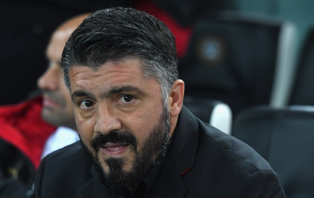 UDINE, ITALY - NOVEMBER 04: Gennaro Gattuso head coach of AC Milan looks on before the Serie A match between Udinese and AC Milan at Stadio Friuli on November 4, 2018 in Udine, Italy. (Photo by Alessandro Sabattini/Getty Images)