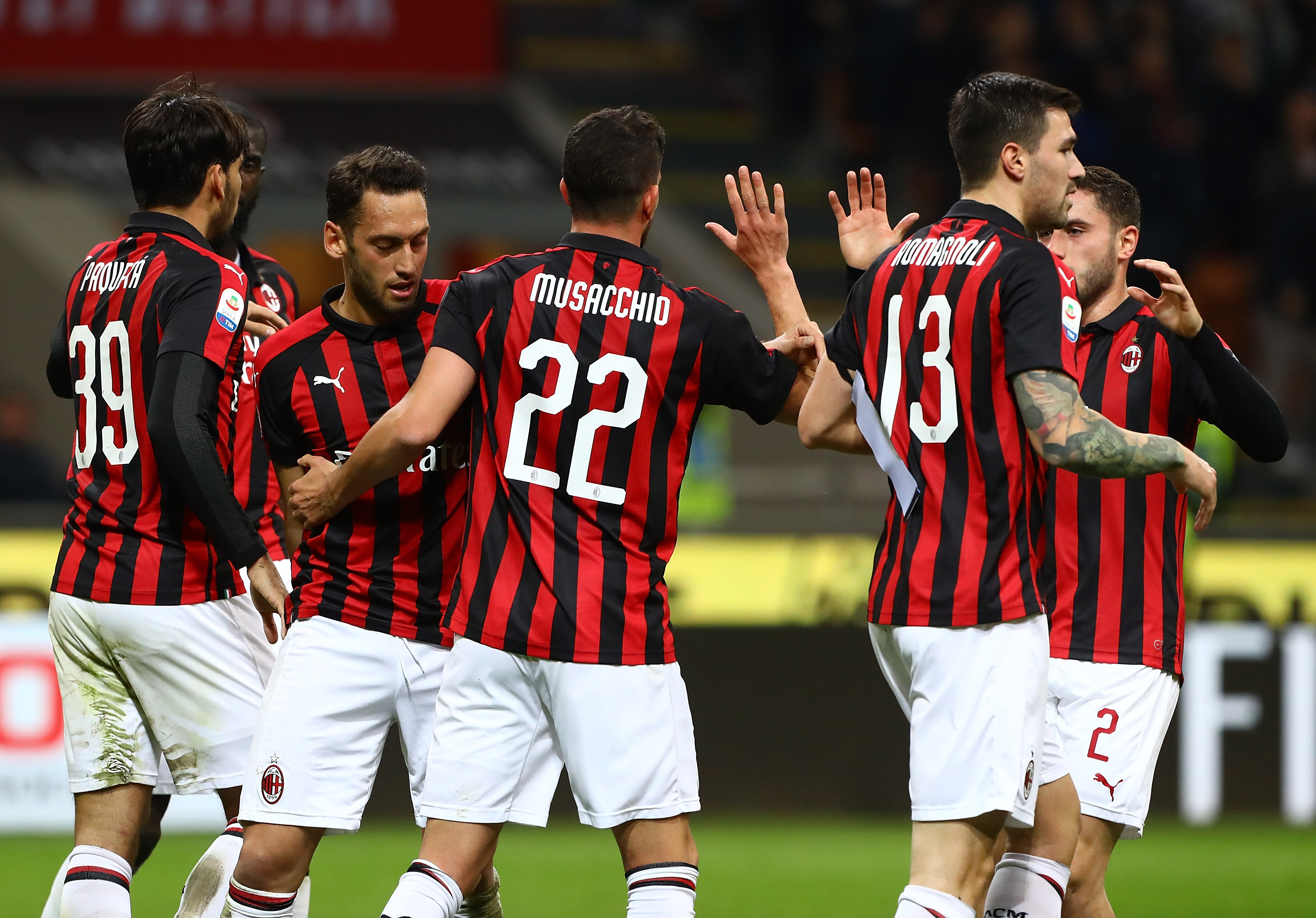 AC Milan 1-0 Sassuolo: The Rossoneri leap to third place ...