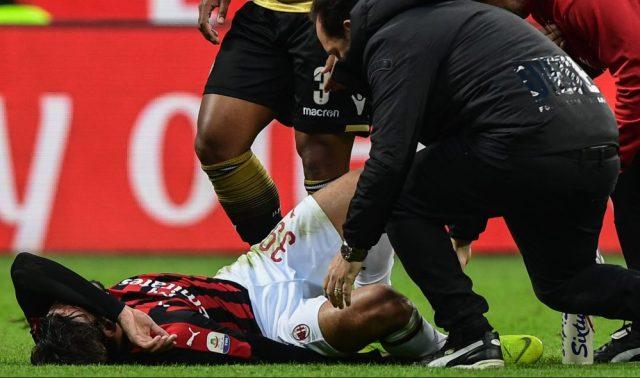 AC Milan's Brazilian midfielder Lucas Paqueta