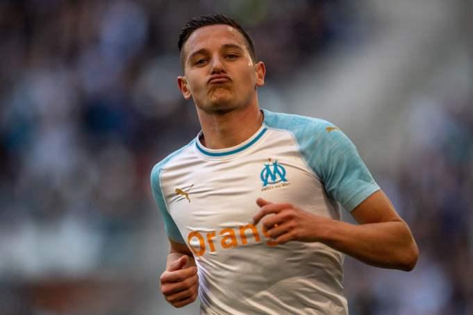 Marseille's French forward Florian Thauvin