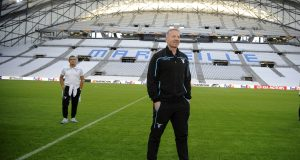 MARSEILLE, FRANCE - OCTOBER 24: SS Lazio manager Igli Tare during the SS Lazio walk around at Stade Velodrome on October 24, 2018 in Marseille, France. (Photo by Marco Rosi/Getty Images)