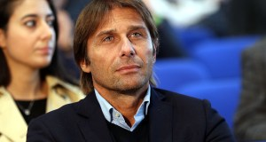 "FLORENCE, ITALY - NOVEMBER 12: Antonio Conte during the ""Golden Bench"" award at Centro Tecnico Federale di Coverciano on November 12, 2018 in Florence, Italy. (Photo by Gabriele Maltinti/Getty Images)"