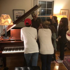 Don Bunch, piano technician, talks about the mechanics of the piano.