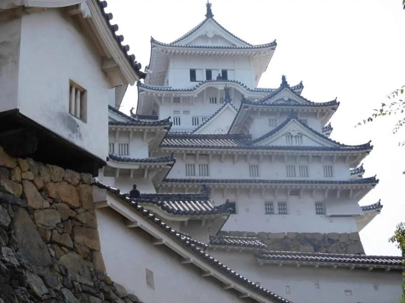 Castello di Himeji esterno calce bianco