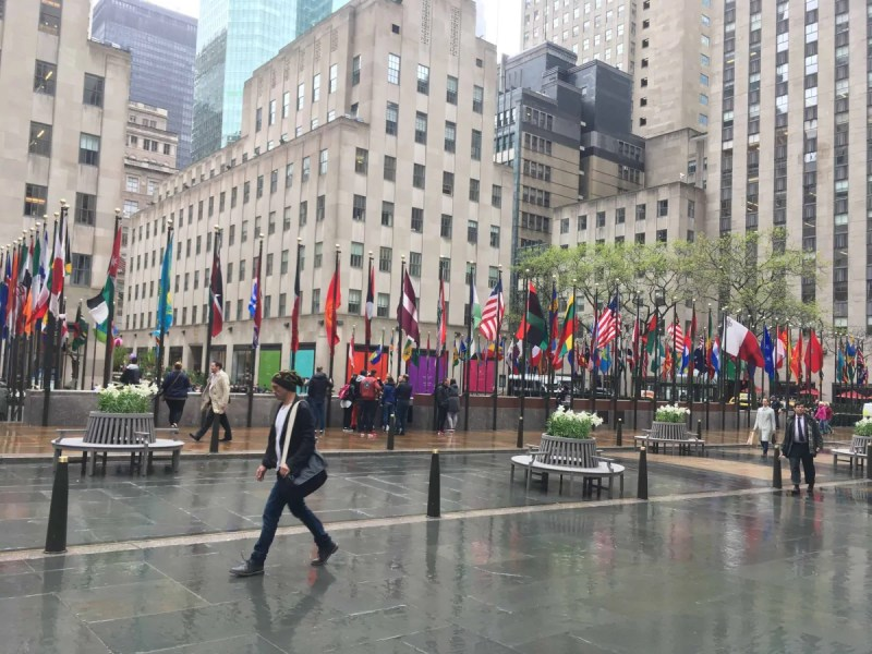 Rockefeller Center complesso del quartiere