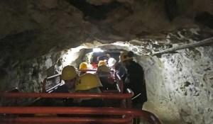 trenino della miniera di Prali