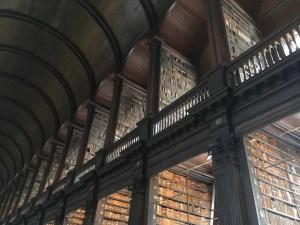 Biblioteca del Trinity College in Irlanda