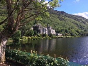 Kylemore Abbey panorama