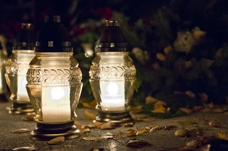 candela in vetro