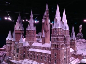 Il Castello di Hogwarts all'harry potter warner bros studios