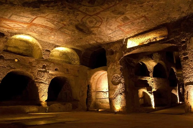 Catacombe di San Gennaro a Napoli Sotterranea