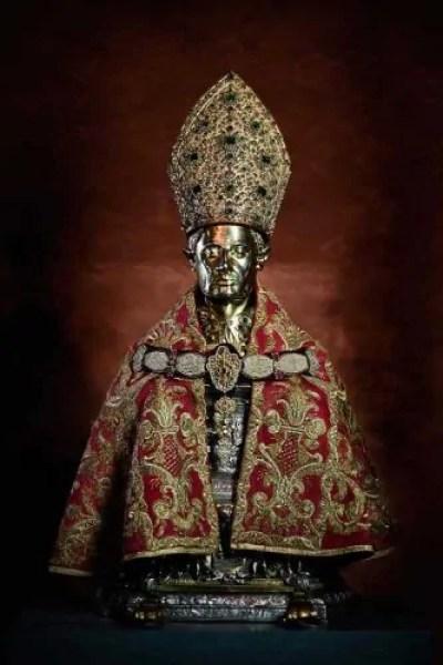 Il busto di San Gennaro