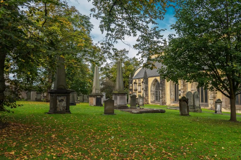 Greyfriars Kirkyard il cimitero monumentale a Edimburgo