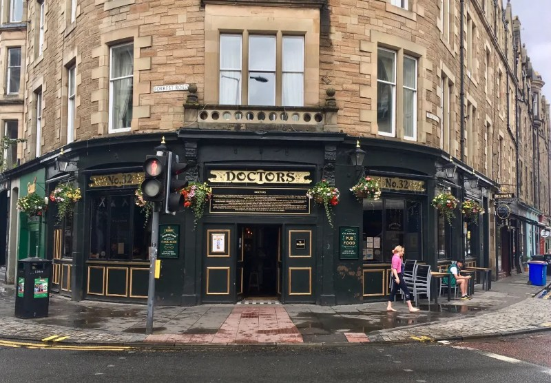 Doctors pub a Edimburgo