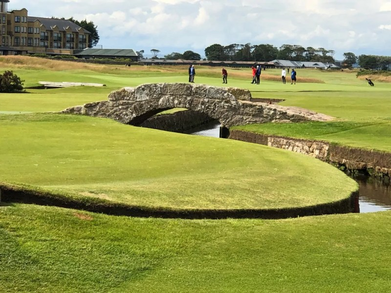 Saint Andrews e il suo campo da golf
