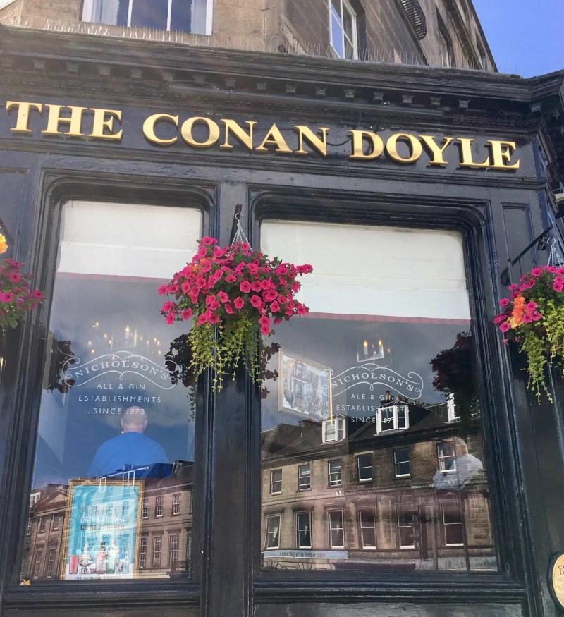 The Conan Doyle pub a Edimburgo