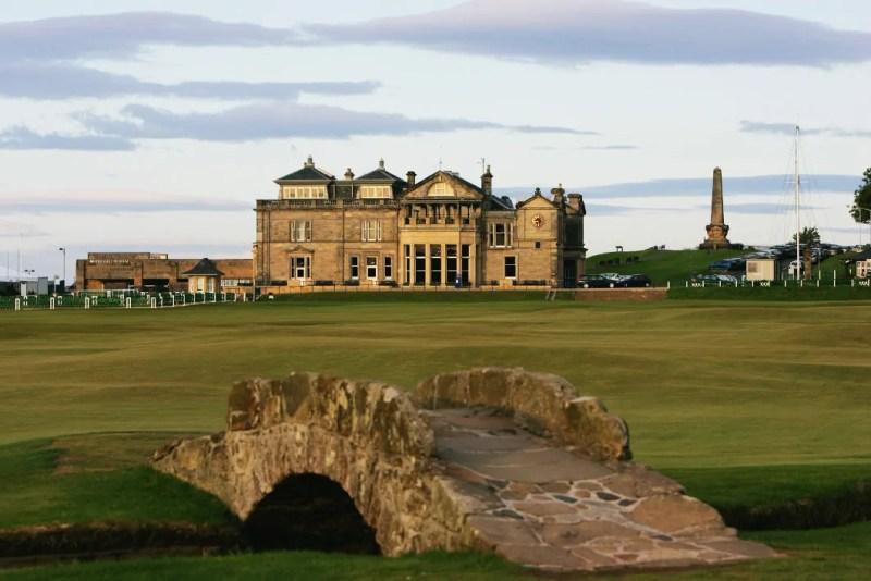 L'Old Course di Saint Andrews in scozia
